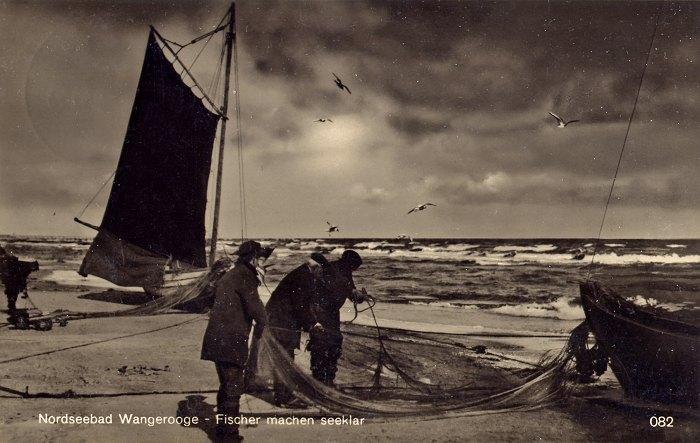 Fischer machen seeklar